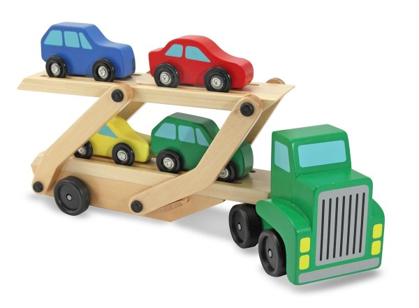 Melissa and Doug Wooden Car Carrier