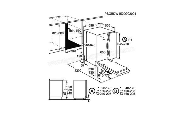 ELECTROLUX ESL5324LO (ESL 5324 LO), fiche technique, prix
