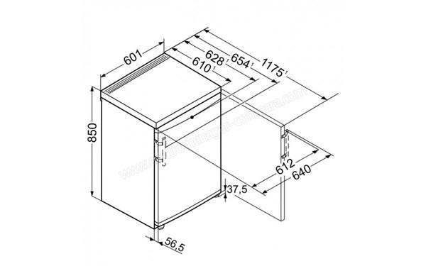 LIEBHERR TP 1760 (TP1760), fiche technique, prix et avis