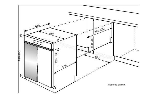 WHIRLPOOL ADG5820IX (ADG 5820 IX), fiche technique, prix