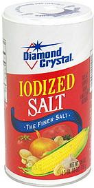 Diamond Crystal Iodized Salt 26.0 oz Nutrition Information ...