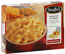 Stouffers Macaroni Cheese 120 oz Nutrition Information