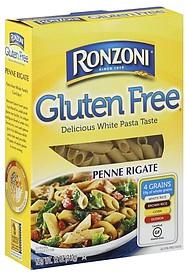 Ronzoni Penne Rigate 120 oz Nutrition Information ShopWell