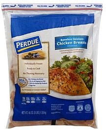 Perdue Chicken Breasts Boneless Skinless with Rib Meat 48