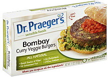 Dr. Praeger's Sensible Foods Curry Veggie Burgers