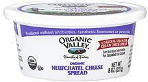 Organic Valley Neufchatel Cheese Spread Organic 80 oz