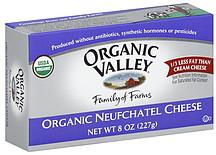 Organic Valley Neufchatel Cheese Organic 80 oz Nutrition