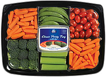 Eat Smart Classic Party Veggie Tray Snaps WDip 400 Oz