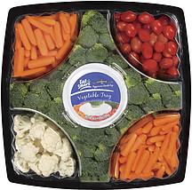 Eat Smart Vegetable Tray WCauliflower East 22609 40 Lb