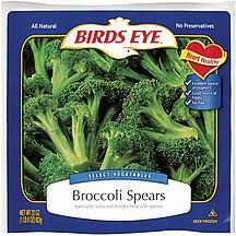 Birds Eye Broccoli Spears 220 oz Nutrition Information