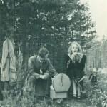 Herbert och Gretchen 1953.