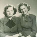 Edith Lundberg och Margita Larsson.