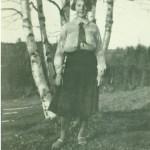 Astrid Nilsson f 1913 i Havsträsk, gift med Odal Jansson i Svartlå.