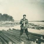 Fler jobbilder... Stig 10 april 1952.