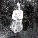 Anna Kristina Hedström 1881-1958, Rödingsträsk och Bodträskfors. Mamma till Enar och Nancy, som var Oskar Mikaelssons barn.