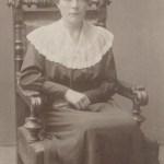 """Klara Isaksson """"Lövudd-Klara"""" 1901-1976 gift med Didrik Pettersson, Bovallen."""