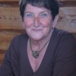 …och hustru Disa f Ökvist. Hennes pappa Knut var en i den berömda trion Ökvistarna i Nystrand, renuppköpare och vänner till rödingsträskarna.