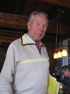 Thue Jönsson, nestorn i sällskapet, bor i Jokkmokk och Puottaure. Hans mamma Lilly föddes i Rödingsträsk.