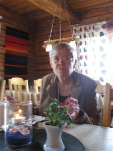 Ethel Ohlsson f Svensson, född och uppvuxen i Bodträskfors.