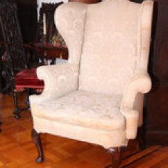 Queen Anne Wing Chair Target Parson Covers Collector's Fancy Takes Flight With | Silive.com