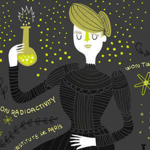 This week's episode artwork is by Rachel Ignotofsky's from her new book, Women in Science