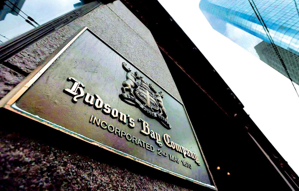 哈德遜灣百貨銷售跌 首季總收入減少3.3%   多倫多   加拿大中文新聞網 - 加拿大星島日報 Canada Chinese News