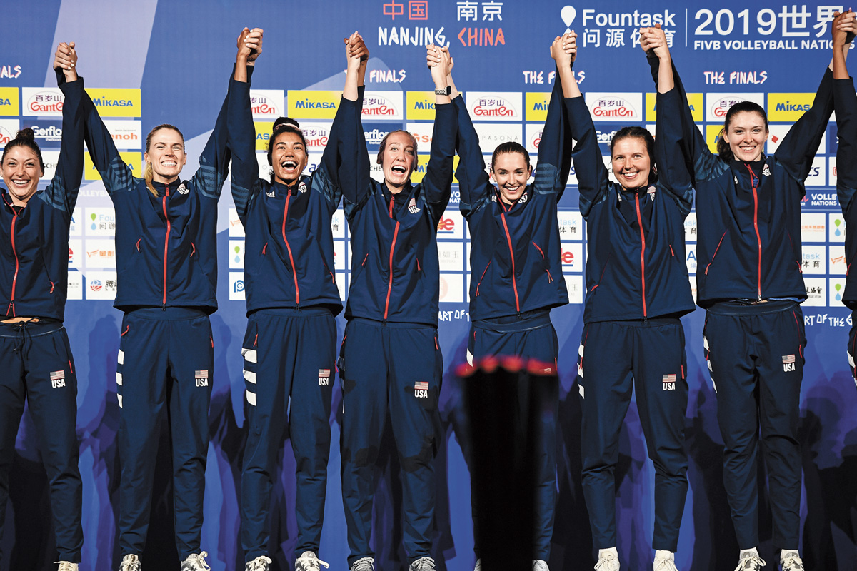 勝巴西 女排蟬聯冠軍