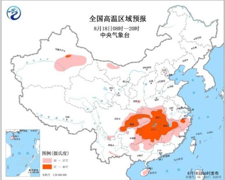 江西重慶多地發高溫黃色預警 最高氣溫近40℃   多倫多   加拿大中文新聞網 - 加拿大星島日報 Canada Chinese News