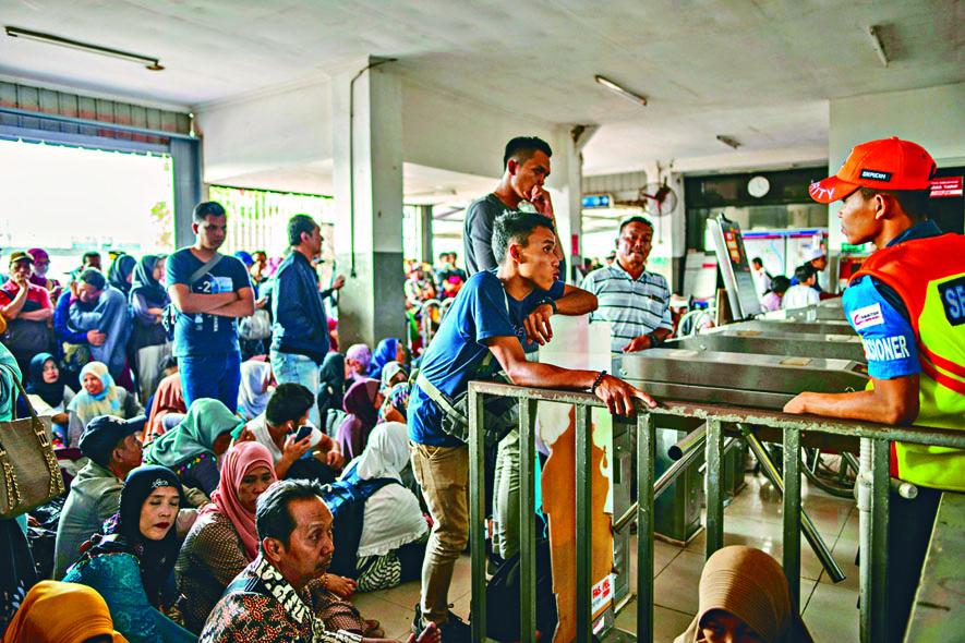 印尼首都耶加達大停電
