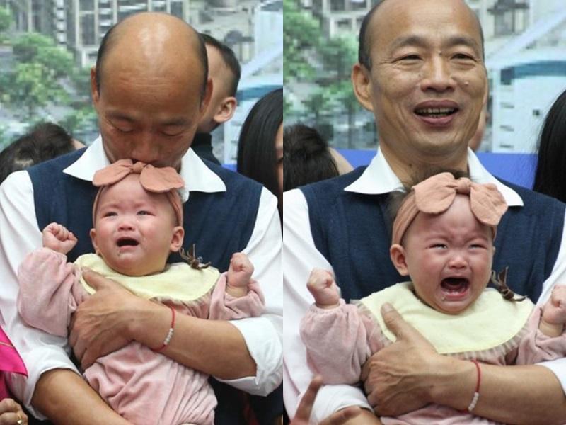 韓國瑜又抱又親BB惹議 女嬰父澄清:沒有不同意 | 多倫多 | 加拿大中文新聞網 - 加拿大星島日報 Canada Chinese News