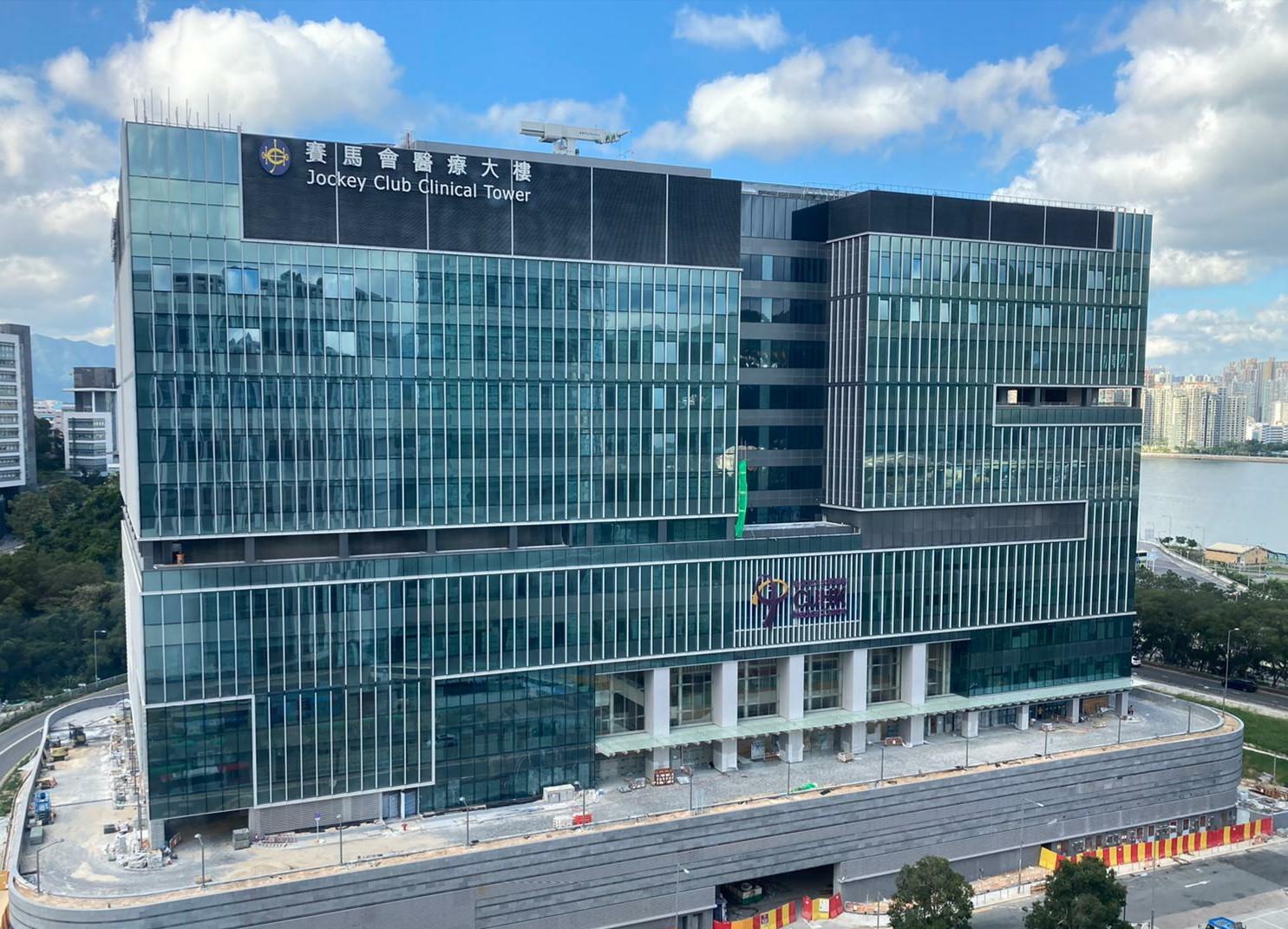 中大醫院取得入伙紙 擬明年1月投入服務