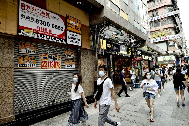 本港第二季GDP按年跌9% 私人消費開支歷來最大跌幅