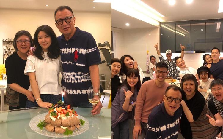 女兒親自炮製蛋糕 許紹雄與家人好友慶祝72歲生日   多倫多   加拿大中文新聞網 - 加拿大星島日報 Canada Chinese News