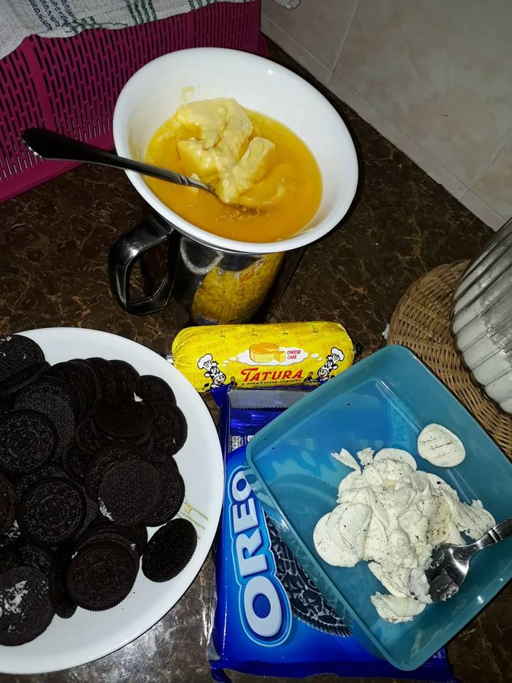 Olahan Resepi kek cheese oreo tanpa bakar - Foody Bloggers