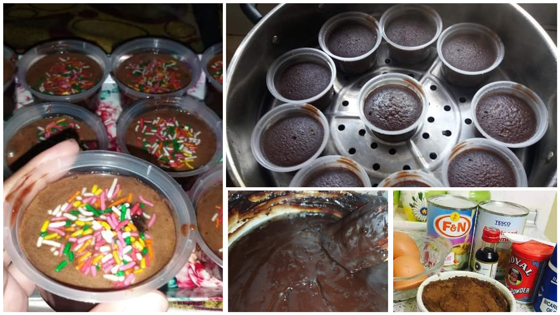 olahan resepi kek coklat kukus mudah  sedap foody bloggers Resepi Kek Coklat Moist Bakar Enak dan Mudah