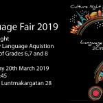 Language Fair 2019