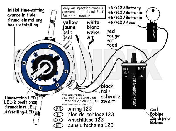 ford duraspark ignition wiring diagram lincoln welders diagrams skandix - technische infos: 123ignition zündverteiler