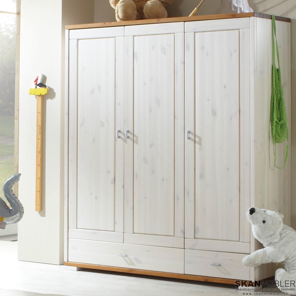 Kleiderschrank Für Kinderzimmer Babyzimmer Guldborg Von