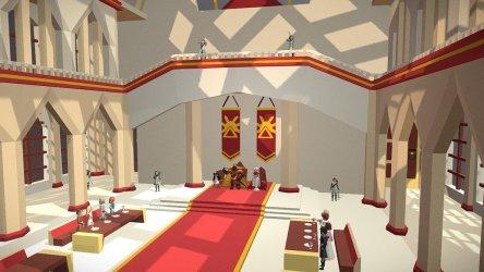 Throne room Medieval Fantasy Challenge Download Free 3D model by tuturu @tuturu [6b9bd21] Sketchfab