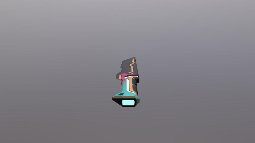 Valorant Glitchpop Dagger - 3D model by OppsyJaffa (@OppsyJaffa) [b32315d]