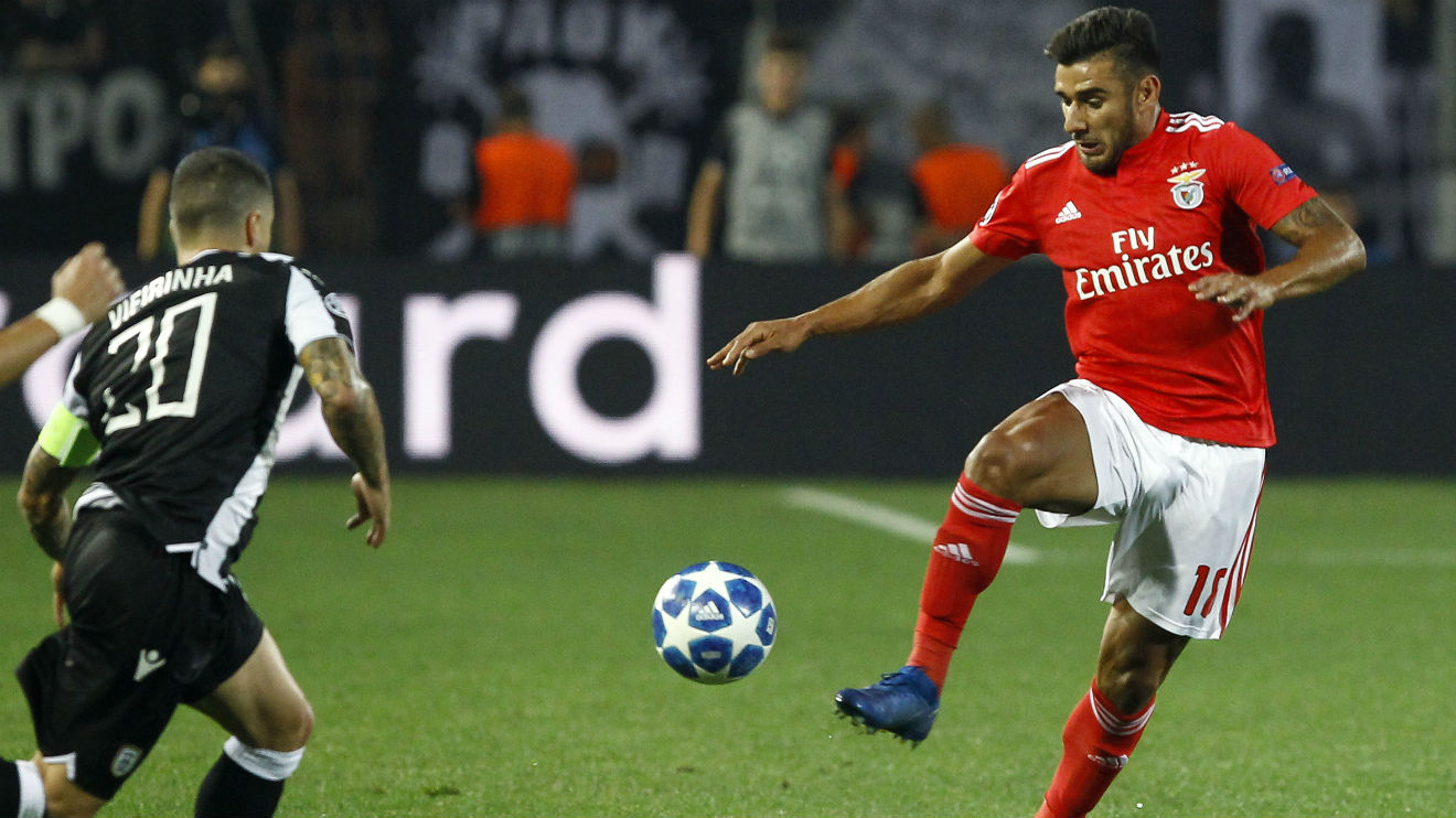 Salvio It S Good To Play And Help The Team Sl Benfica