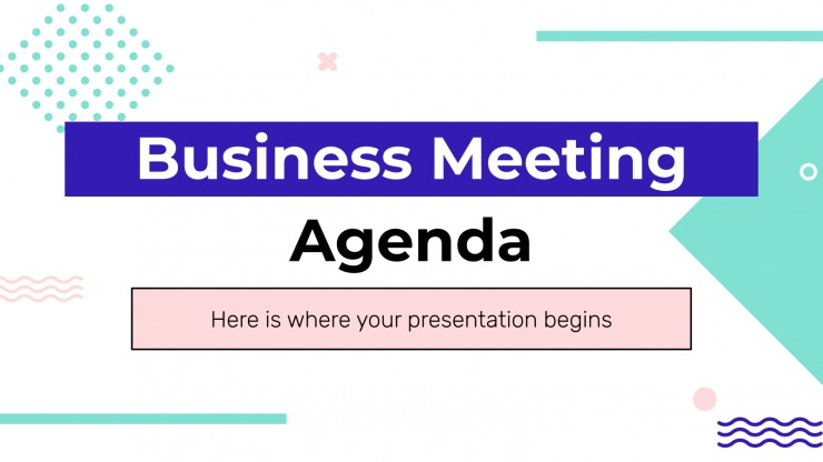 To take your meeting minutes, fill in the meeting agenda document with more information. Business Meeting Agenda Google Slides Powerpoint Template