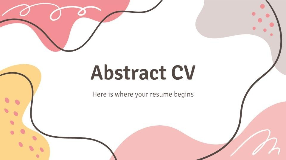 It offers batch or bulk import of jobs into your database without. Free Resume Google Slide Themes And Powerpoint Templates