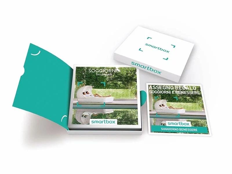Cofanetto regalo Soggiorno benessere  Smartbox