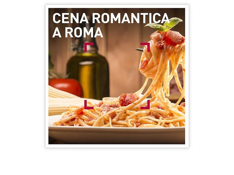 Cofanetto regalo  Cena romantica a Roma  Smartbox