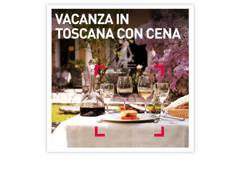 Cofanetto regalo  Vacanza in Toscana con cena  Smartbox