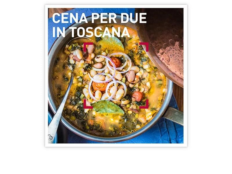 Cofanetto regalo  Cena per due in Toscana  Smartbox