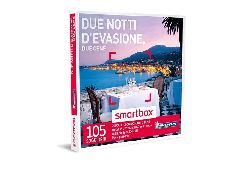 Cofanetto regalo  Due notti devasione due cene  Smartbox