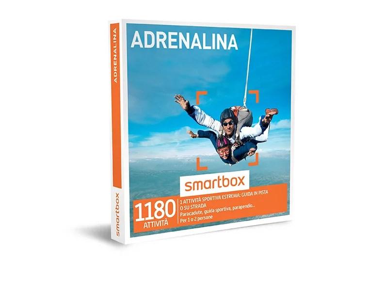 Cofanetto regalo  Adrenalina  Smartbox