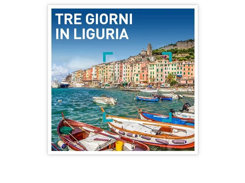 Cofanetto regalo  Tre giorni in Liguria  Smartbox